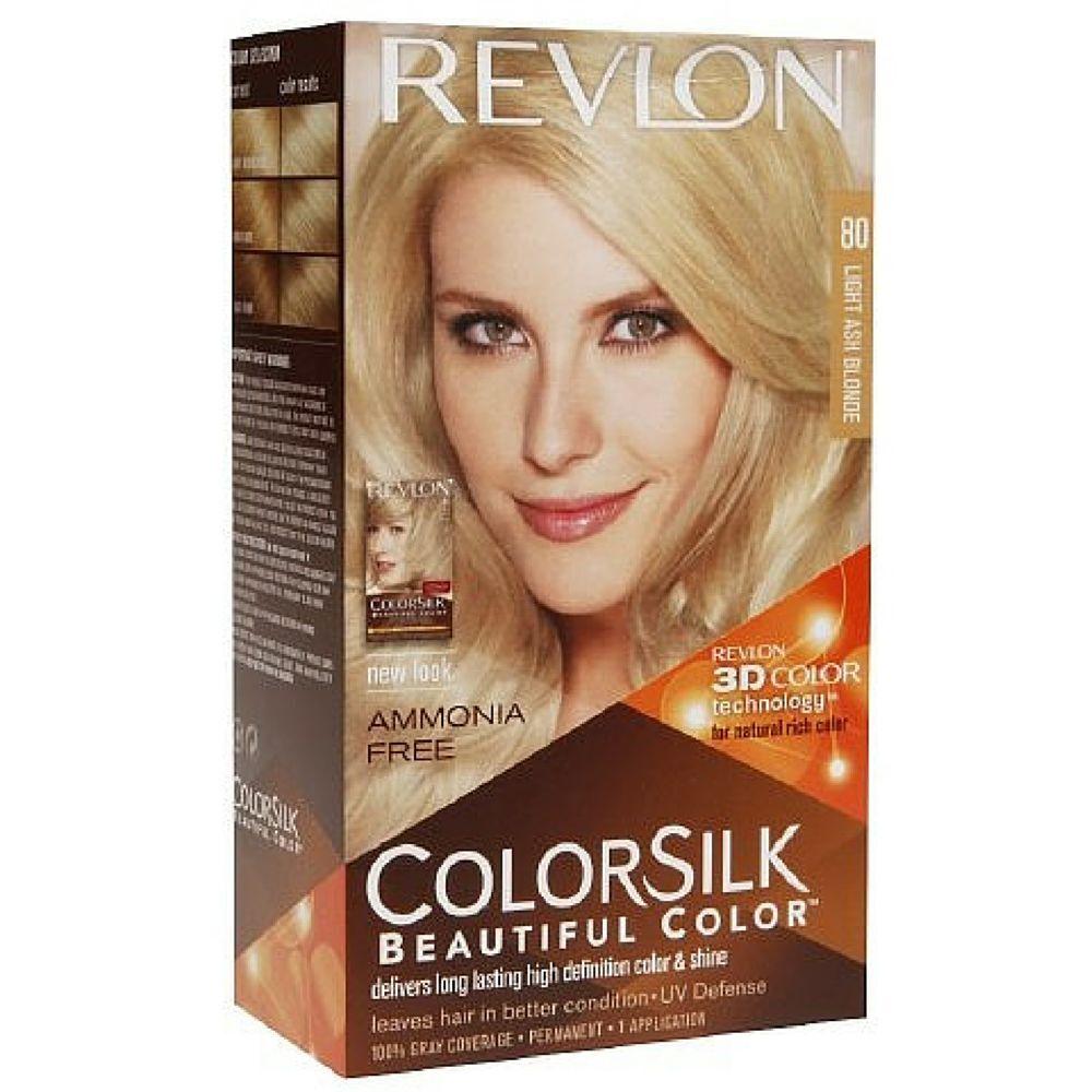 Revlon Colorsilk Natural Hair Color 8a Light Ash Blonde Each Ebay