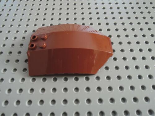 Lego 1 x Cockpit Windschutz x224 rotbraun reddish 8x6x2  7752 7662 75532