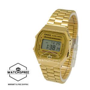 Casio-Digital-Watch-A168WG-9W-AU-FAST-amp-FREE