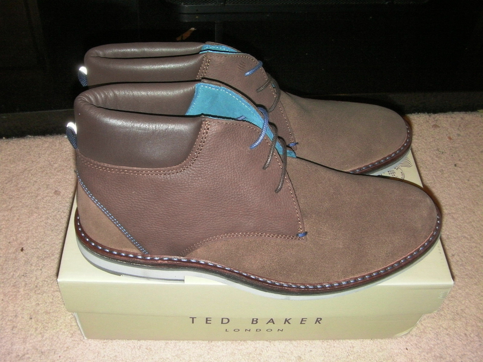 29545d5f34 Ted Baker Men's Arkson Ankle Boots Brown 9 UK EU - NEW 43 (Brown)  nxsrsj2796-Men's Boots