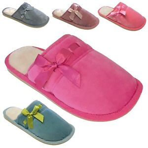 d8adef369b47a Details about NEW Women's Soft Indoor Slippers w/ Warm & Fuzzy Faux Fur  House Shoes Size 5 -10