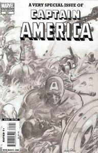 Captain-America-601-Gene-Colan-Sketch-Variant-2009-Marvel-Comics