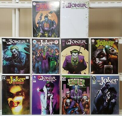 JOKER 80TH ANNIVERSARY #1 1980/'S SIENKIEWICZ VARIANT 2020 DC COMICS 6//10//20 NM