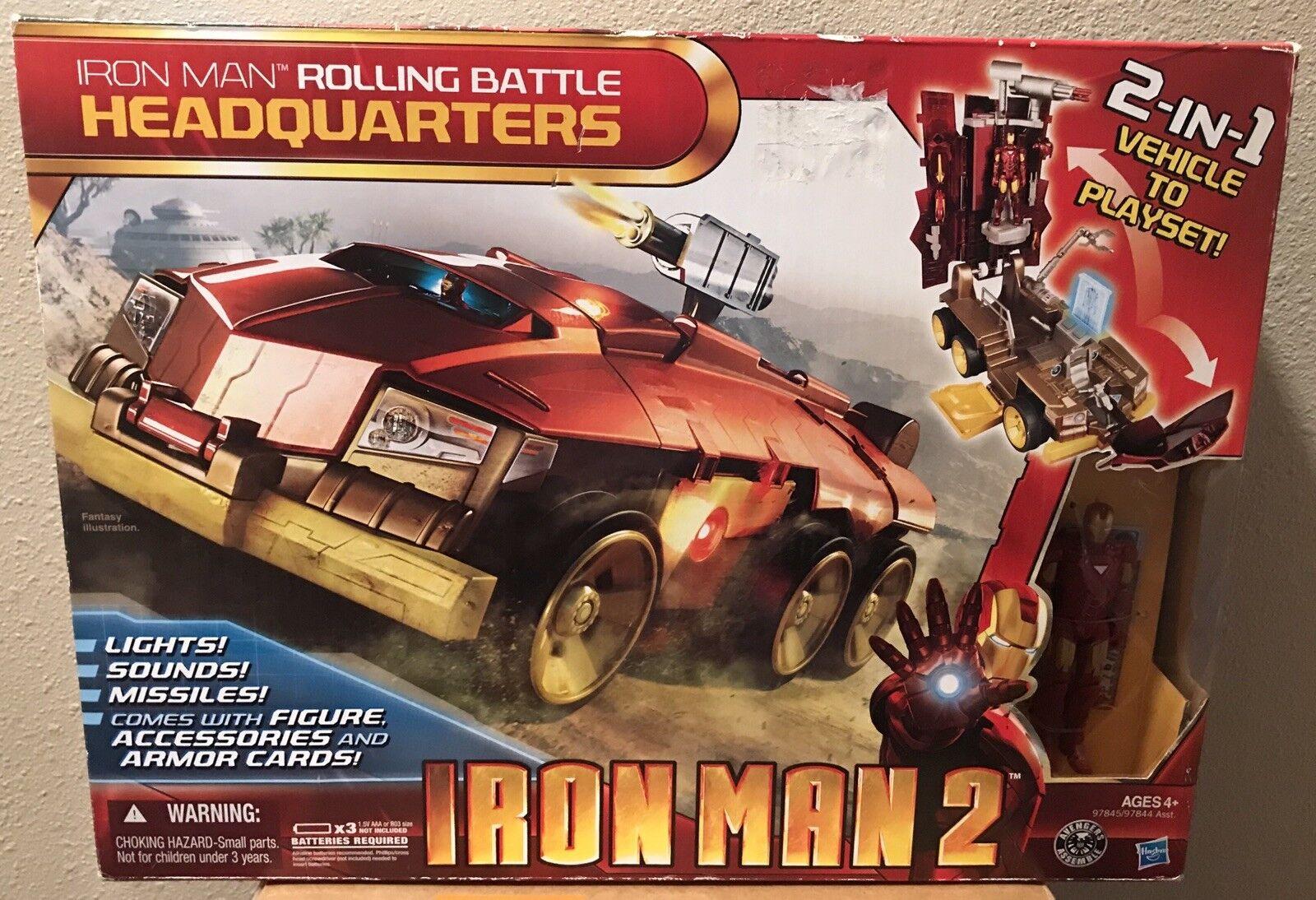 Iron man 2 walzen kampf hauptquartier 2 in 1 fahrzeug hat licht & klingt feder