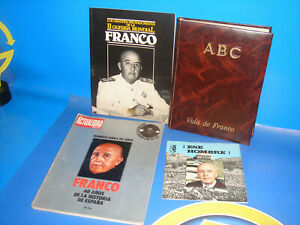 Lot-on-FRANCO-MAGAZINES-EP-DISK-Life-of-Franco-Daily-ABC-BOOK