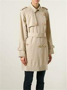 2a394a63562d Image is loading Moncler-Delmas-Pleated-Double-Breasted-Trench-Coat-Jacket-