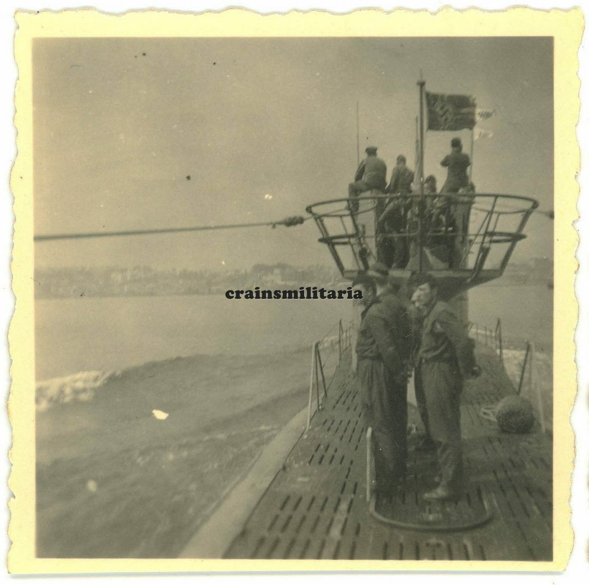 L'U-Boot 371 entre Brest et Toulon S-l1600