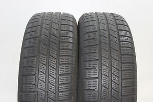 2x-Continental-CrossContact-Winter-215-65-R16-98H-M-S-6-5mm-nr-8459