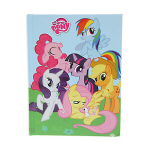 My Little Pony Friendship Is Magic Hard Cover Notebook Mlp