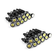 20X 12V Motor Car 3W LED Eagle Eye White Light Daytime Running DRL Backup Lights