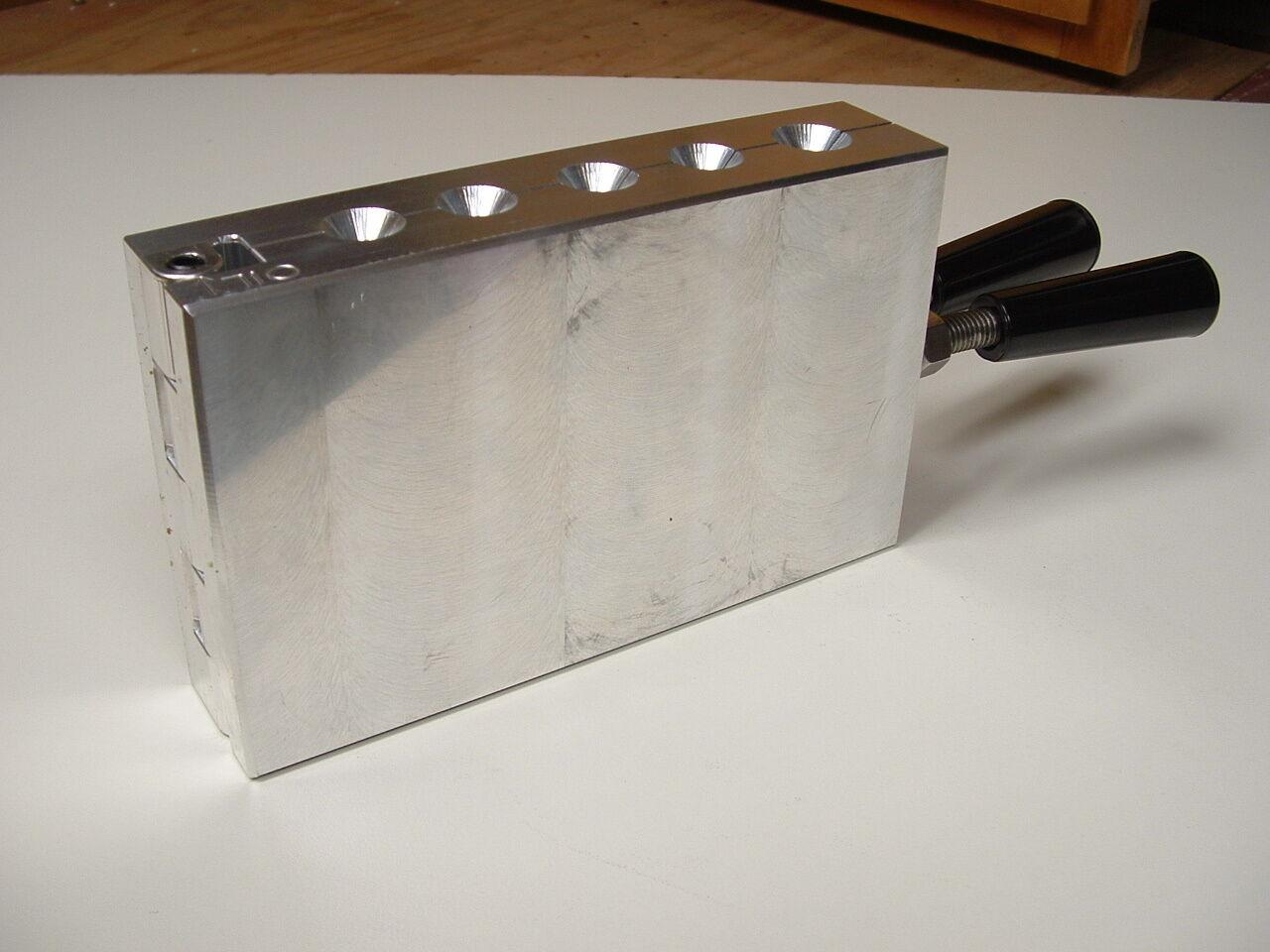 Molde De Agua Salada Trolling Platina 2, 4, 6, 6, 6, 8, 10oz CNC Aluminio Trol 0730e7
