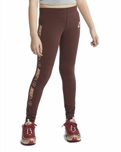 Nike Mädchen Leggings Fitnesshose Trainingshose G NSW Favorites Leggings rot