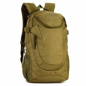 25L-Military-Backpack-Rucksack-Water-proof-Tactical-Assault-Student-School-Bags