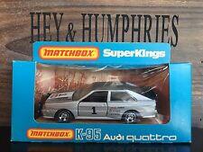 Matchbox Super Kings K 95A-3.Rare Version Mack Wheels mint OVP excellent 1982