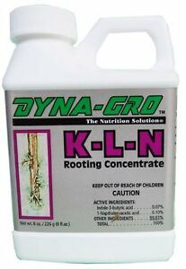 Dyna-Gro-K-L-N-KLN-8-oz-Rooting-Hormone-Concentrate-Hydroponic-Root-Stimulator