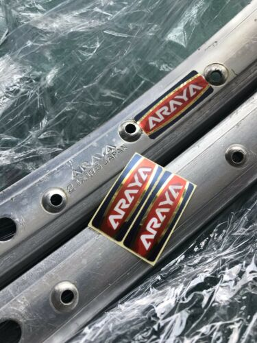 Araya Rims Decal 7X 7C Oldschool Bmx  24 26 Inch SE Racing Kuwahara Tange Skyway