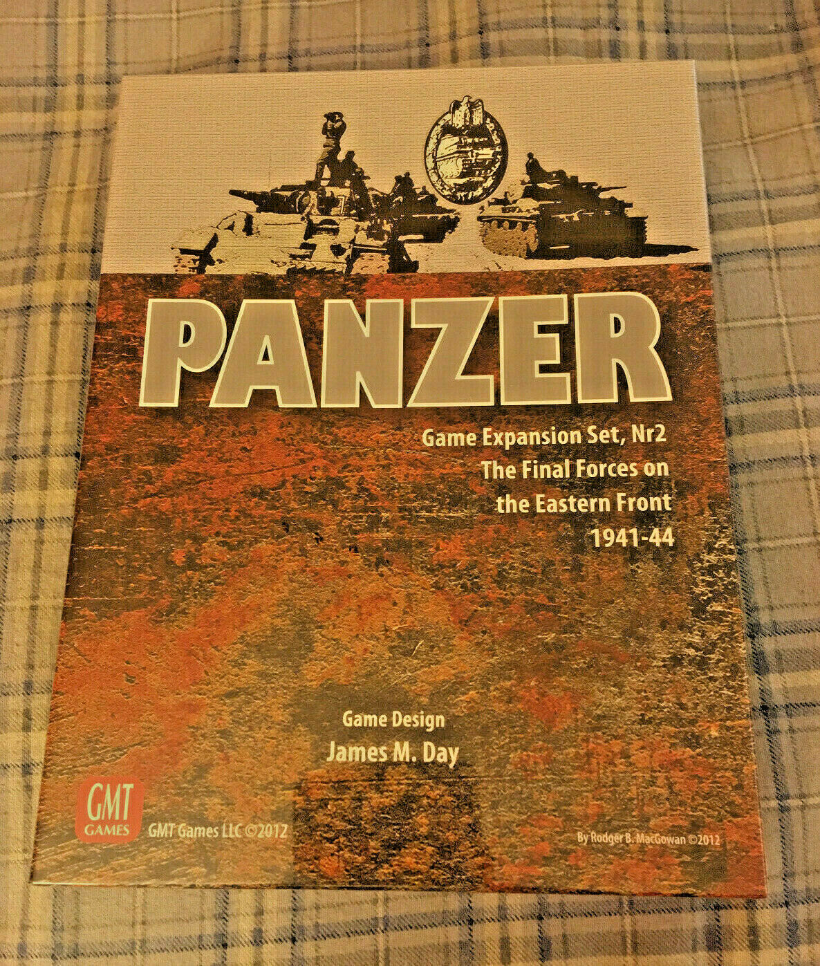 Panzer - Expansion Set  2 - Eastern davanti 1941-44 - GMT {nuovo-SEALD-SHRONK} OOP