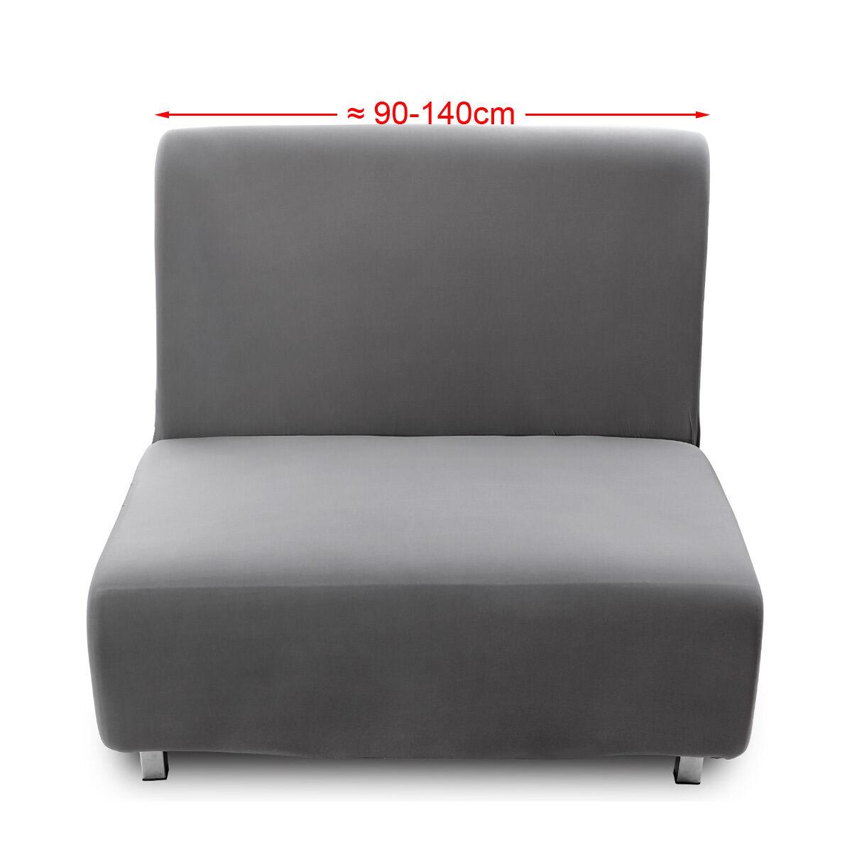 s l1600 - Fundas para sofás Cama Clic-Clac Brazos de madera Funda para sofá 1/2/3 plazas