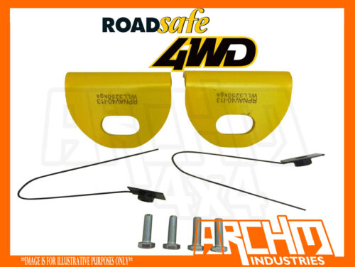 ROADSAFE PAIR OF HEAVY DUTY TOW POINTS FOR NISSAN NAVARA D40