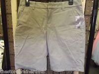 Sonoma - Teen - Bermuda Shorts - Taupe Gray - Size 4 (ac-19-20)