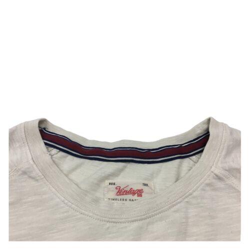 55 T Mod Manches Hommecru shirt Vintage Courtes q5w04dCqx