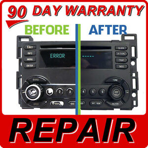 Details about REPAIR 04 05 06 07 08 PONTIAC G6 Pursuit CHEVY Equinox Cobalt  6 Disc CD Changer
