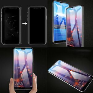 Full-Coverage-Nano-TPU-Screen-Protector-Front-Rear-Film-For-Huawei-P20-Pro-Lite