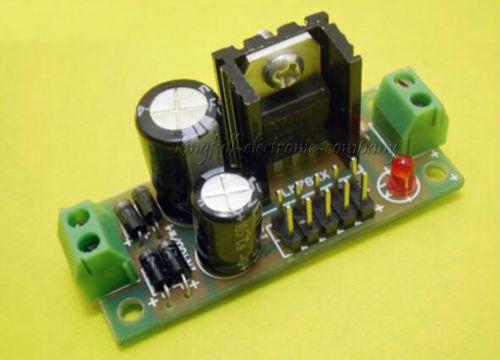 LM7805 Step Down 7-25Vac To 5Vdc voltage regulator FULLY ASSEMBLED   US SELLER