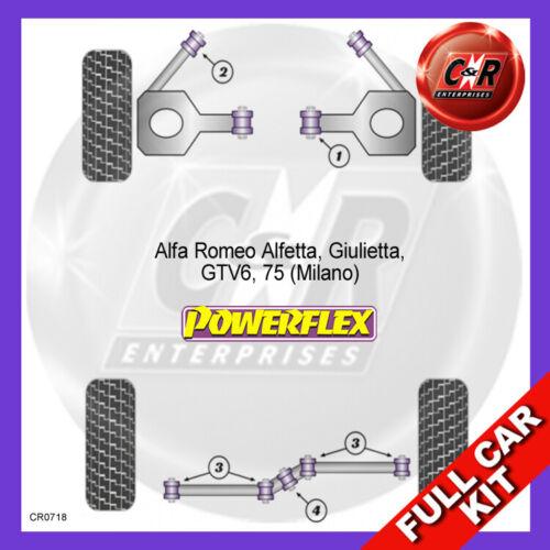 Alfa Romeo 75 Powerflex Complete Bush Kit 1985-1992