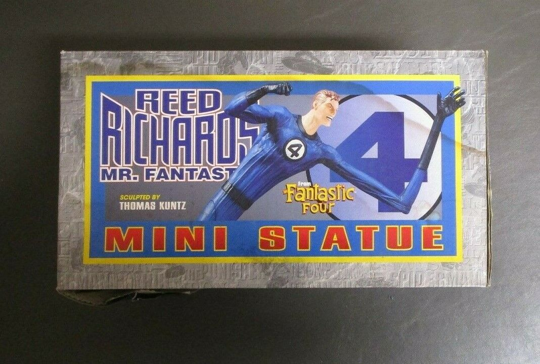 Reed Richards Mr Fantastique Mini Statue BOWEN DESIGNS Limited Edition 4000 GV