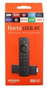 Details about Amazon Fire TV Stick 4K with Alexa Voice Remote Streaming  Media 2018 - Black