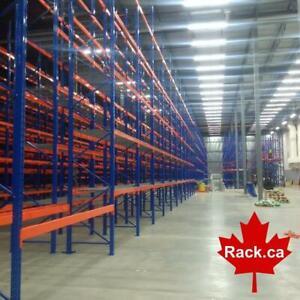Industrial Shelving - Pallet Racking - Guardrail - Mezzanine - Cantilever - Wire Partition - Installations - Design Oshawa / Durham Region Toronto (GTA) Preview