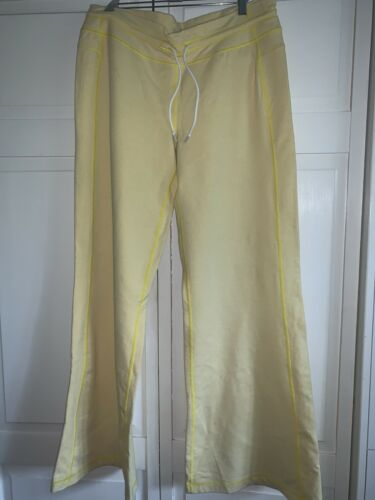 Lululemon Yellow Flare Pants Bottoms 12