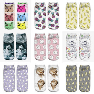 Fashion-Unisex-Animal-Socks-Cotton-3D-Printed-Animals-Low-Cut-Ankle-Socks-1-Pair