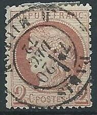 1871-75 FRANCIA USATO CERERE 2 CENT - EDF163