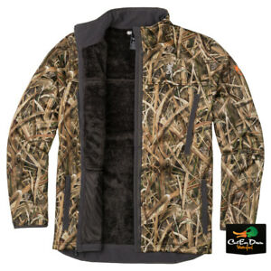 NEW-BROWNING-WICKED-WING-HIGH-PILE-FLEECE-JACKET-SHADOW-GRASS-BLADES-CAMO