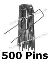 500 Dewitt Anchor Pins G-apb5 6x1 Sod Staples Frost Cloth Weed Mat Etc. Pk500