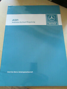 Mercedes-Service-Anleitung-W-126-ASR