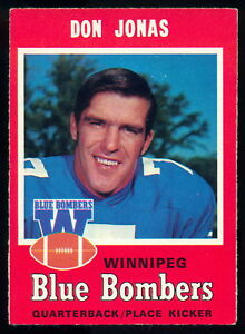 1971-OPC-O-PEE-CHEE-CFL-16-DON-JONAS-NM-WINNIPEG-BLUE-BOMBERS-PENN-STATE-Card