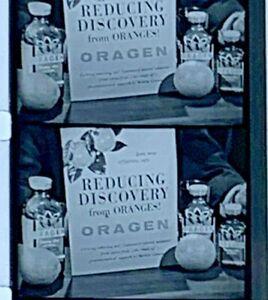 "16mm Advertising Film Reel - ORAGEN ""Reducing Discovery"" Diet Aid (C18)"