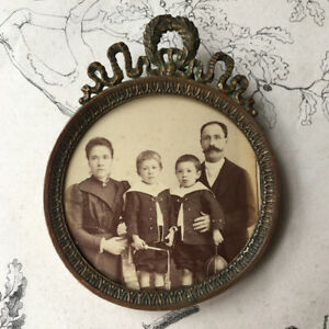 Ancien Petit Cadre Bronze Style Empire Xixème French Antique Frame Adopter Une Technologie De Pointe