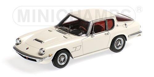 Maserati Mistral Coupe' 1963 Cream White 1 43 Model MINICHAMPS