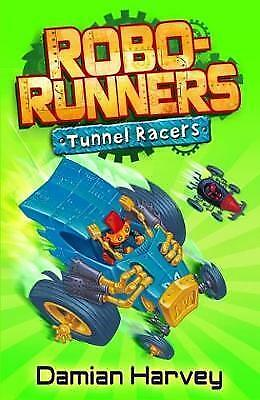 """AS NEW"" Robo-Runners 2: Tunnel Racers, Harvey, Damian, Book"