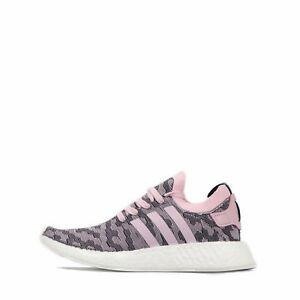 100% authentic 6ccfc 2cef3 Details about adidas Originals NMD_R2 Primeknit Women's Shoes Wonder Pink