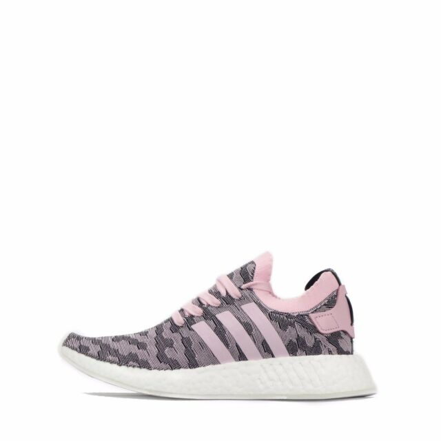4b29621ca6ba7 adidas NMD R2 PK W By9521 Rosa Primeknit Trainers Shoes Originals ...