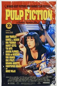Pulp-Fiction-Quentin-Tarantino-Autograph-Signed-Photo-JSA-12-x-18