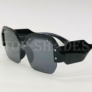 a874f2b8867c Image is loading Oversized-Big-Men-Women-Large-Designer-Rimless-Fashion-