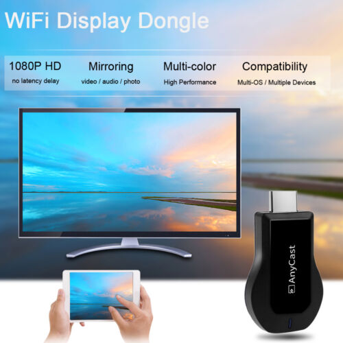 AnyCast 1080P HDMI Digital Media Streamer Wifi Miracast Airplay DLNA Mirroring