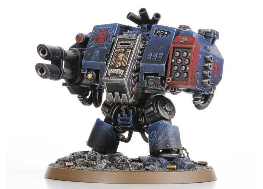Dreadnought of Grey Knights soldier painted action figure   Warhammer 40K
