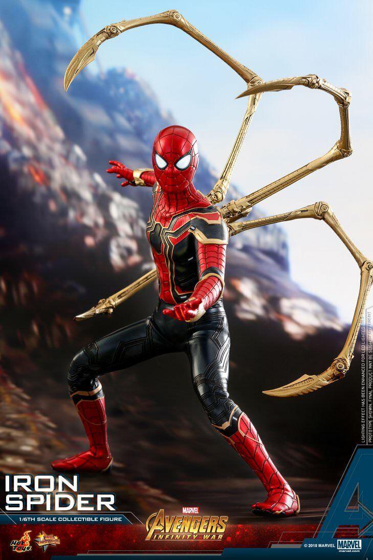 Hot Toys Spider-Man-Iron Spider Avengers  Infinity War MMS482 UK